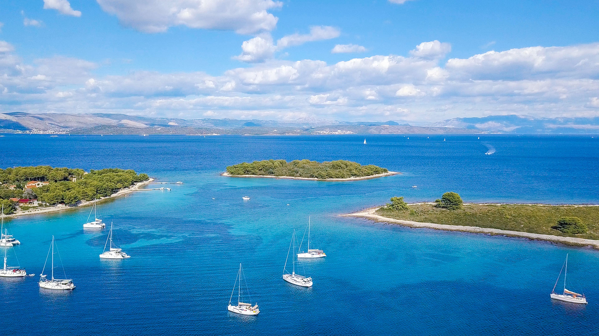 Private Blue Lagoon Trogir 3 Islands Half Day Tour